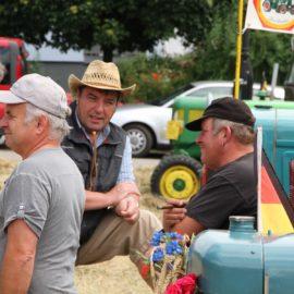 Oldtimer- und Traktorenausstellung